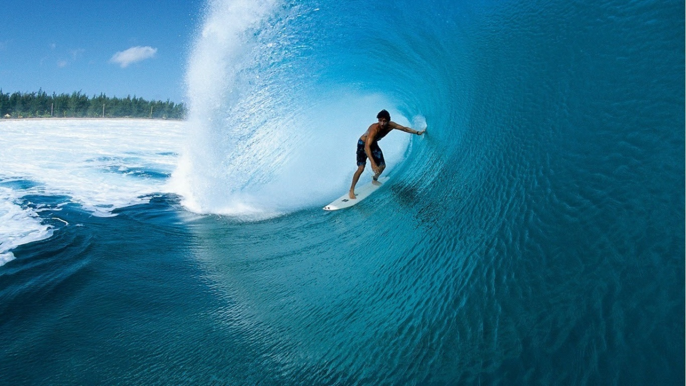 Surfer wallpapers and images   wallpapers pictures photos 1366x768