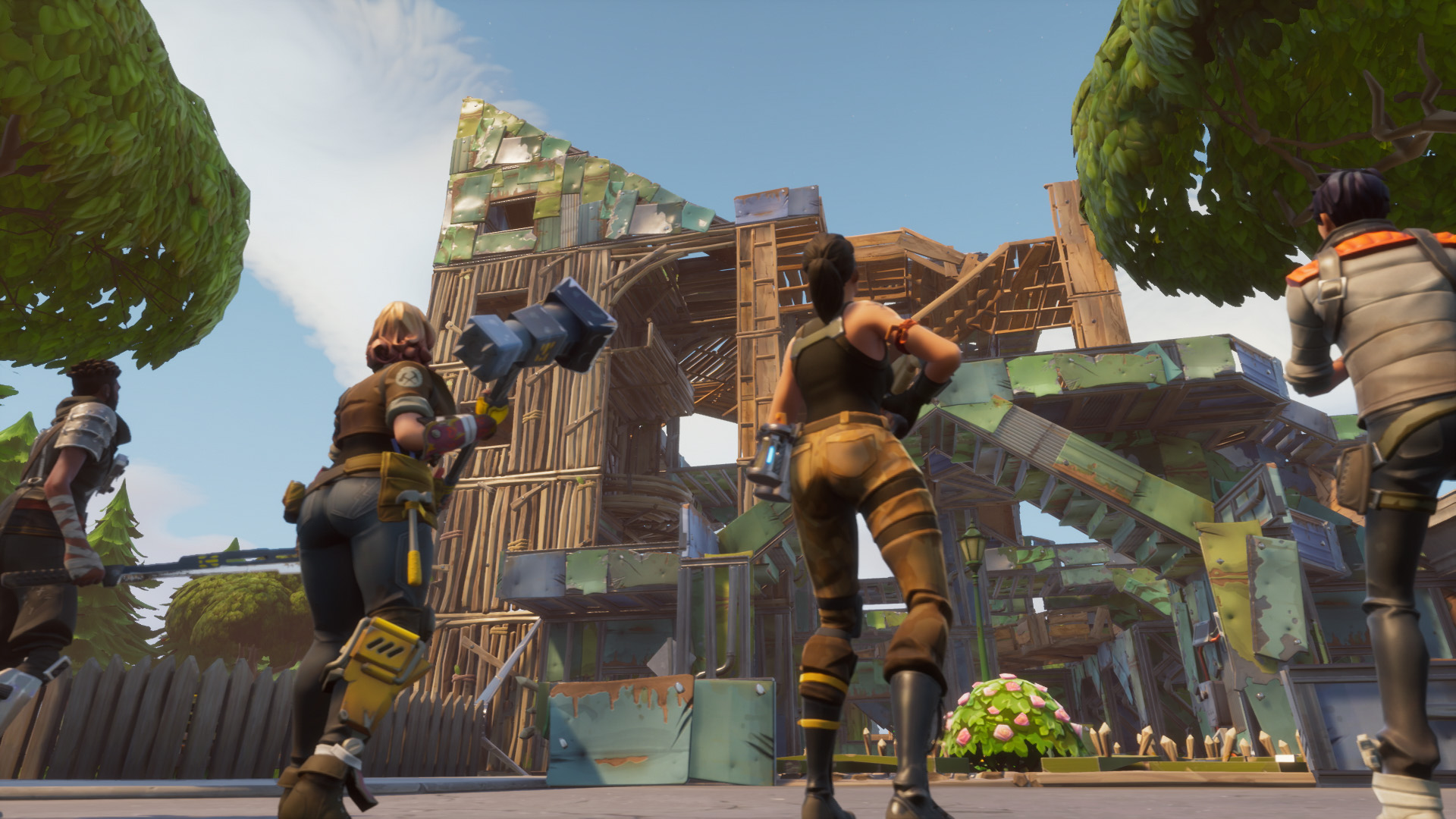 HD Fortnite Characters Class and Fort 68 1920x1080
