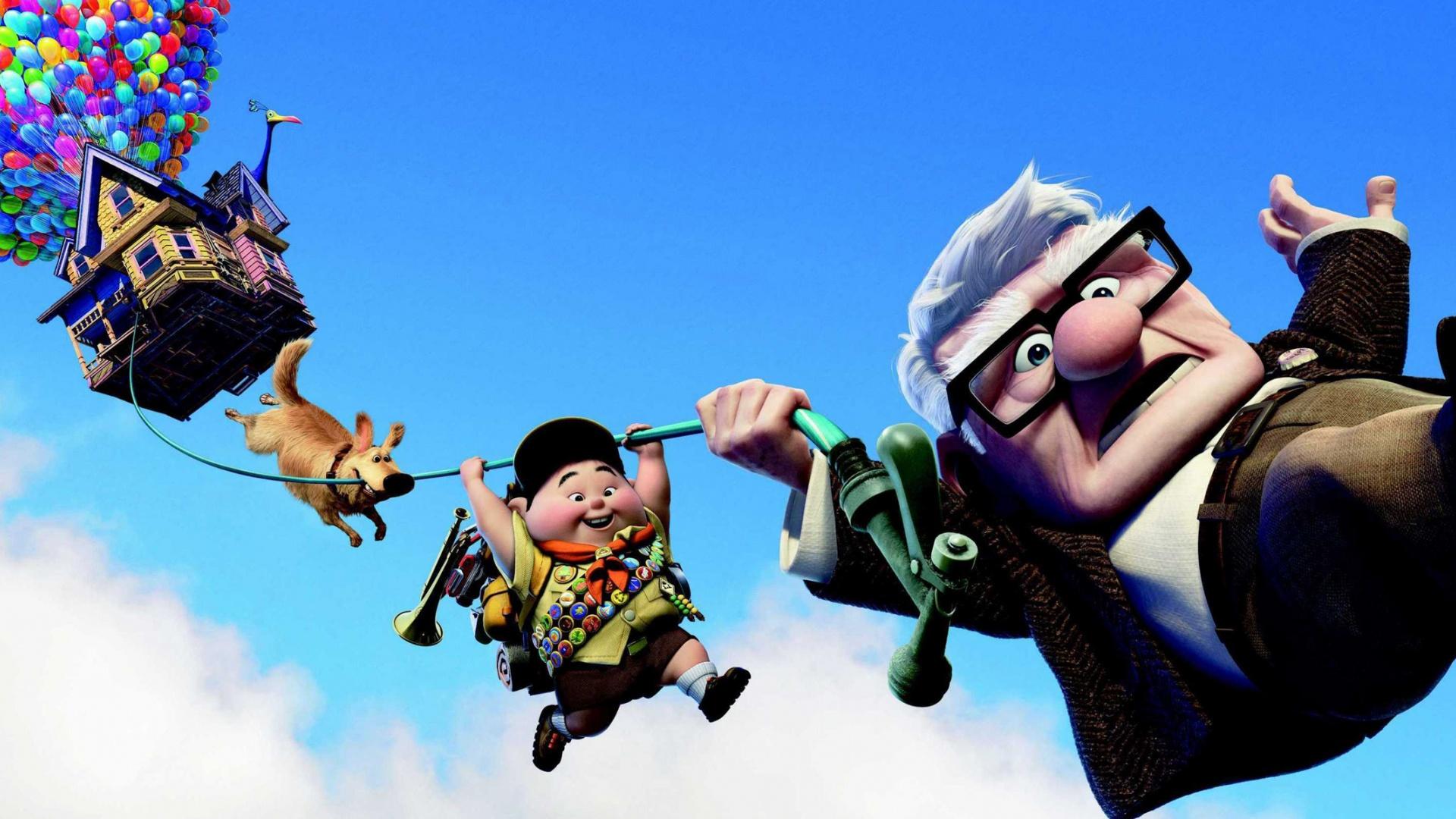 Disney Pixar Up Wallpaper Backgrounds Desktop Wallpapers 1920x1080