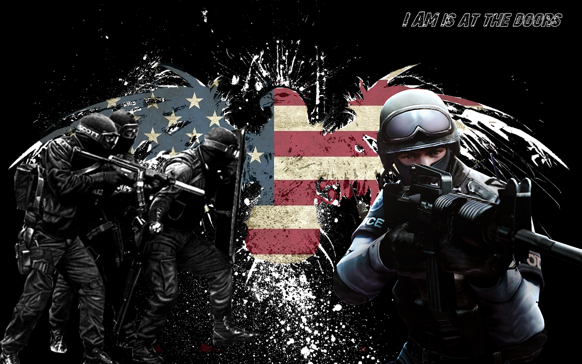 Police Officer Prayer Wallpaper 14 police officers with 1920x1200