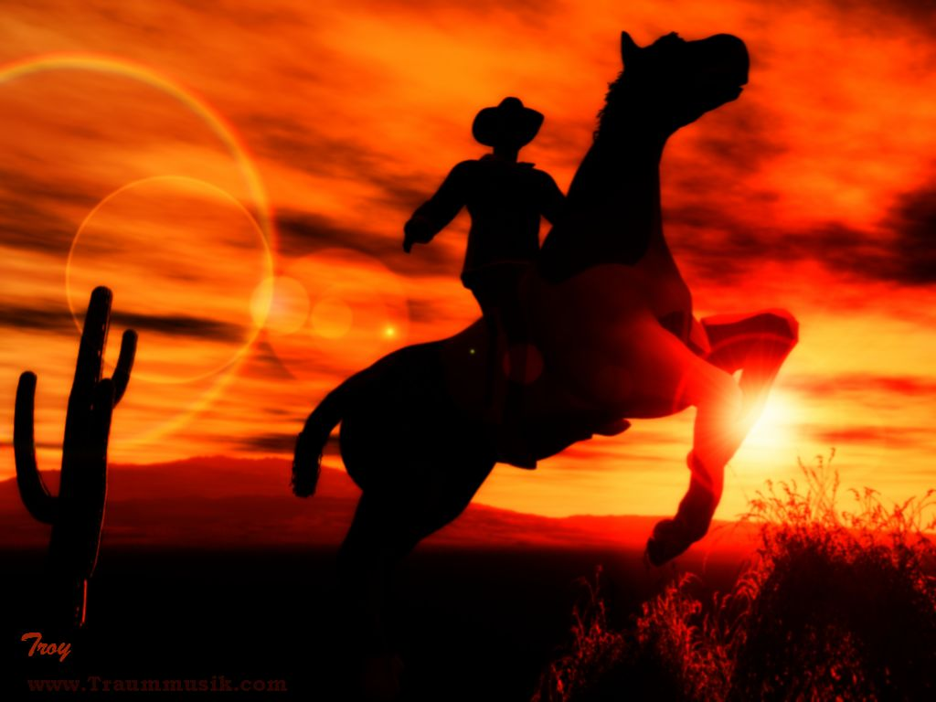 cowboy on mustang sunset 1024px x 768px reitender cowboy prrie 1024x768