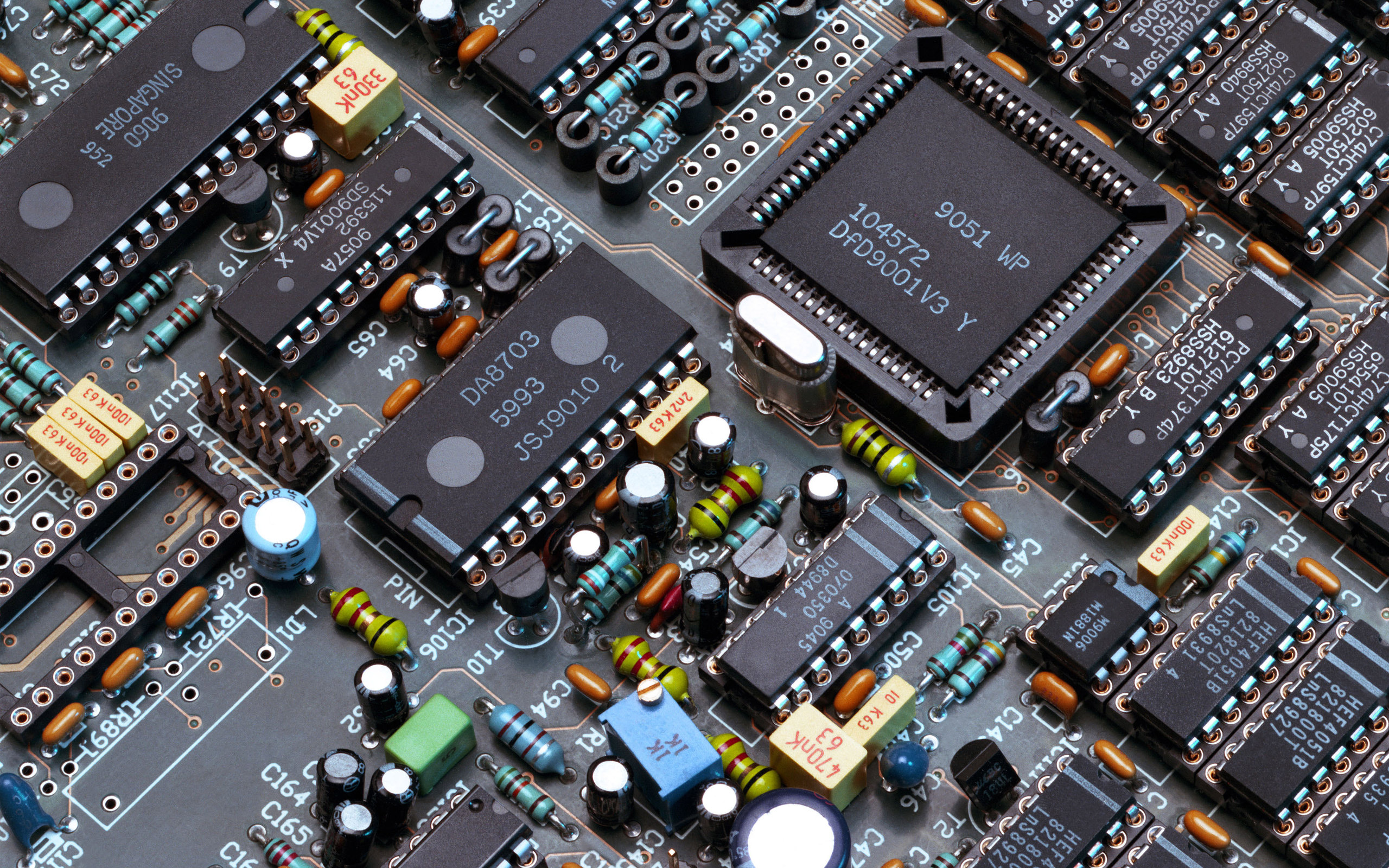 Digital Electronics Circuits Circuit Diagram Of Electronics