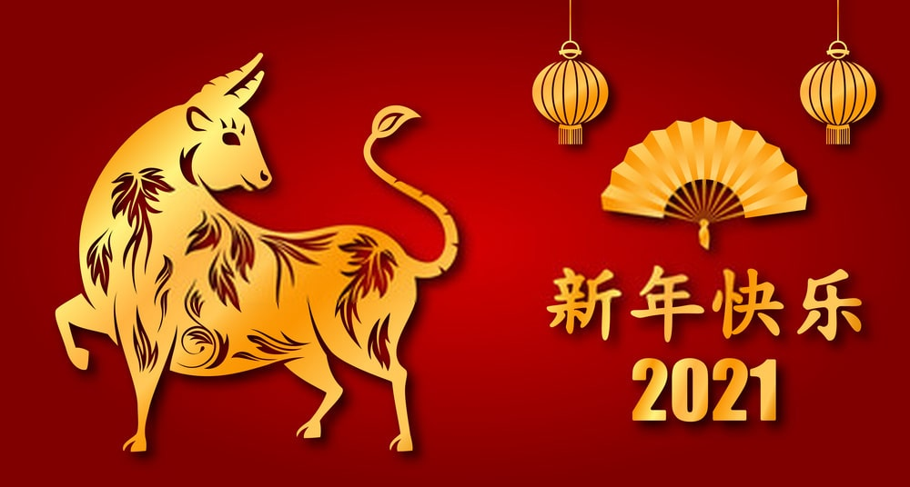 Chinese New Year 2021 Images Wallpaper for Amazing Year of OX 2021 1000x536