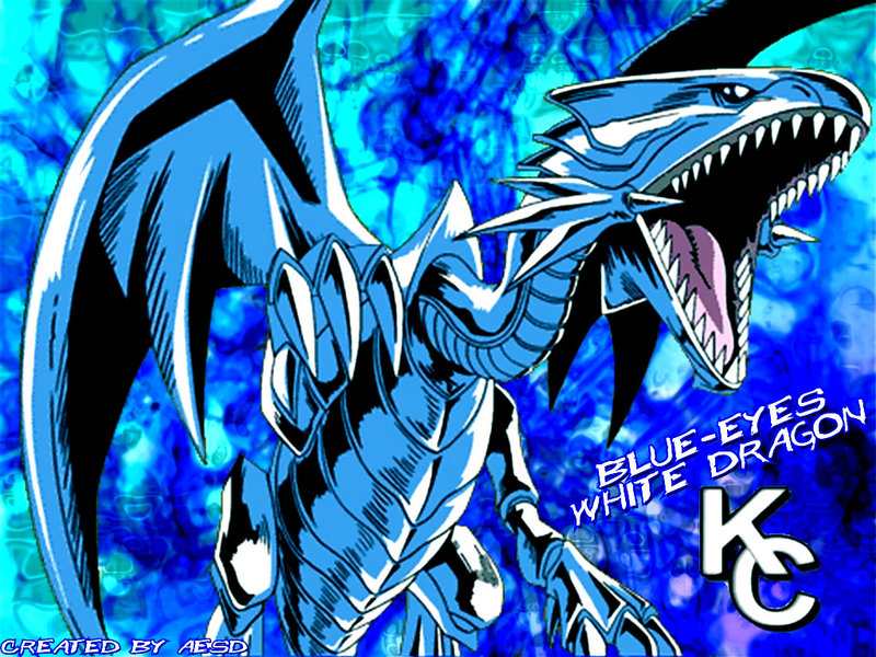 Free Download Blue Eyes White Dragon Wallpaper By Aesd