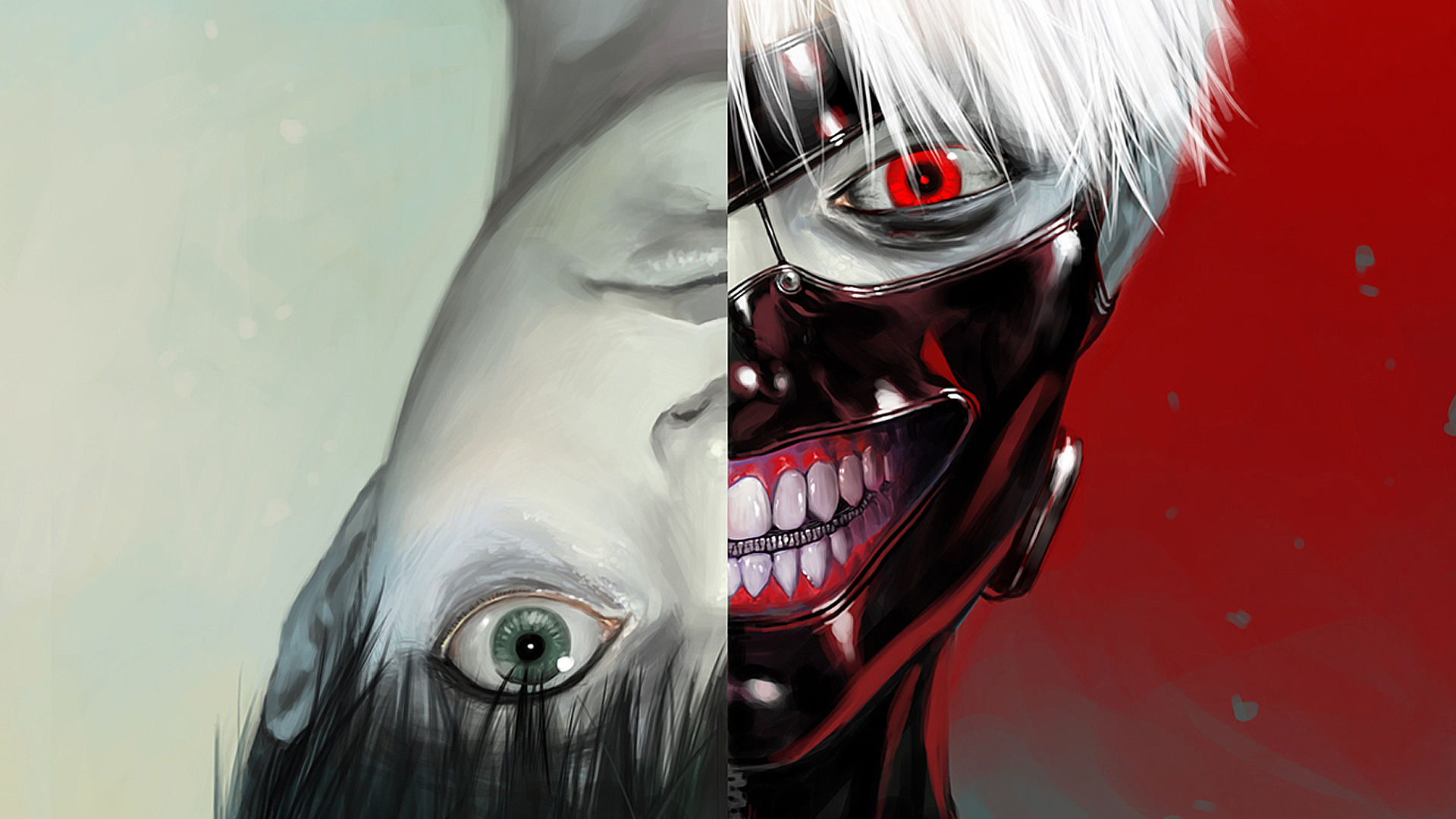 Tokyo Ghoul Ken Mask Hd Wallpaper picture 1920x1080