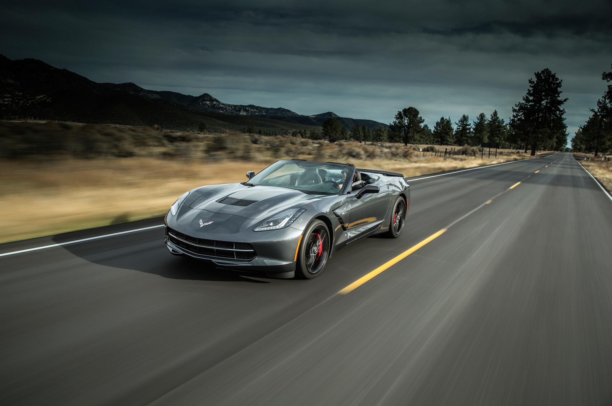 2015 corvette stingray convertible photo wallpaper download