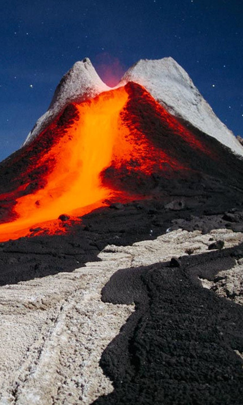 Volcano HD Live Wallpapers Live wallpapers HD for Android 480x800