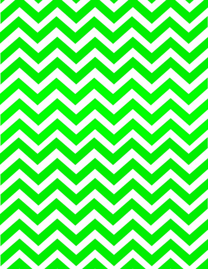 Lighter Green Chevron Paper 816x1056