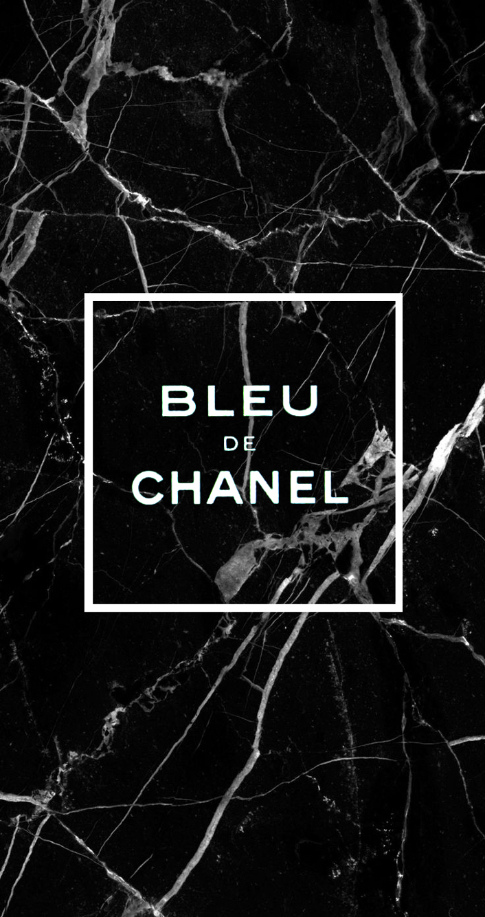 Bleu De Chanel Black Marble Wallpaper Iphone6s Iphone6 706x1334
