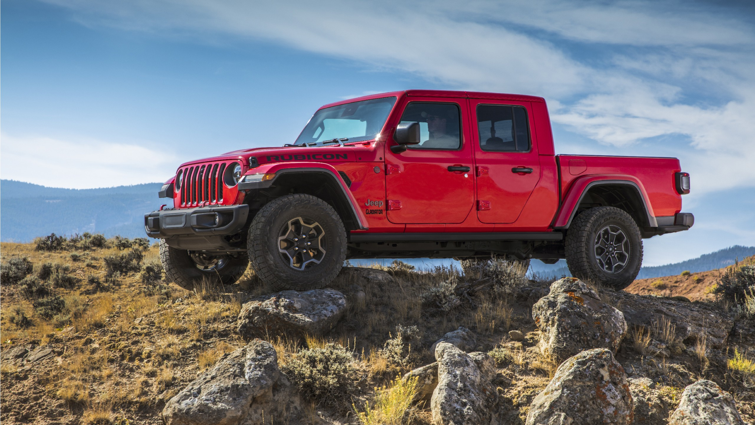 2020 Jeep Gladiator Rubicon Wallpaper HD Car Wallpapers ID 11593 2560x1440