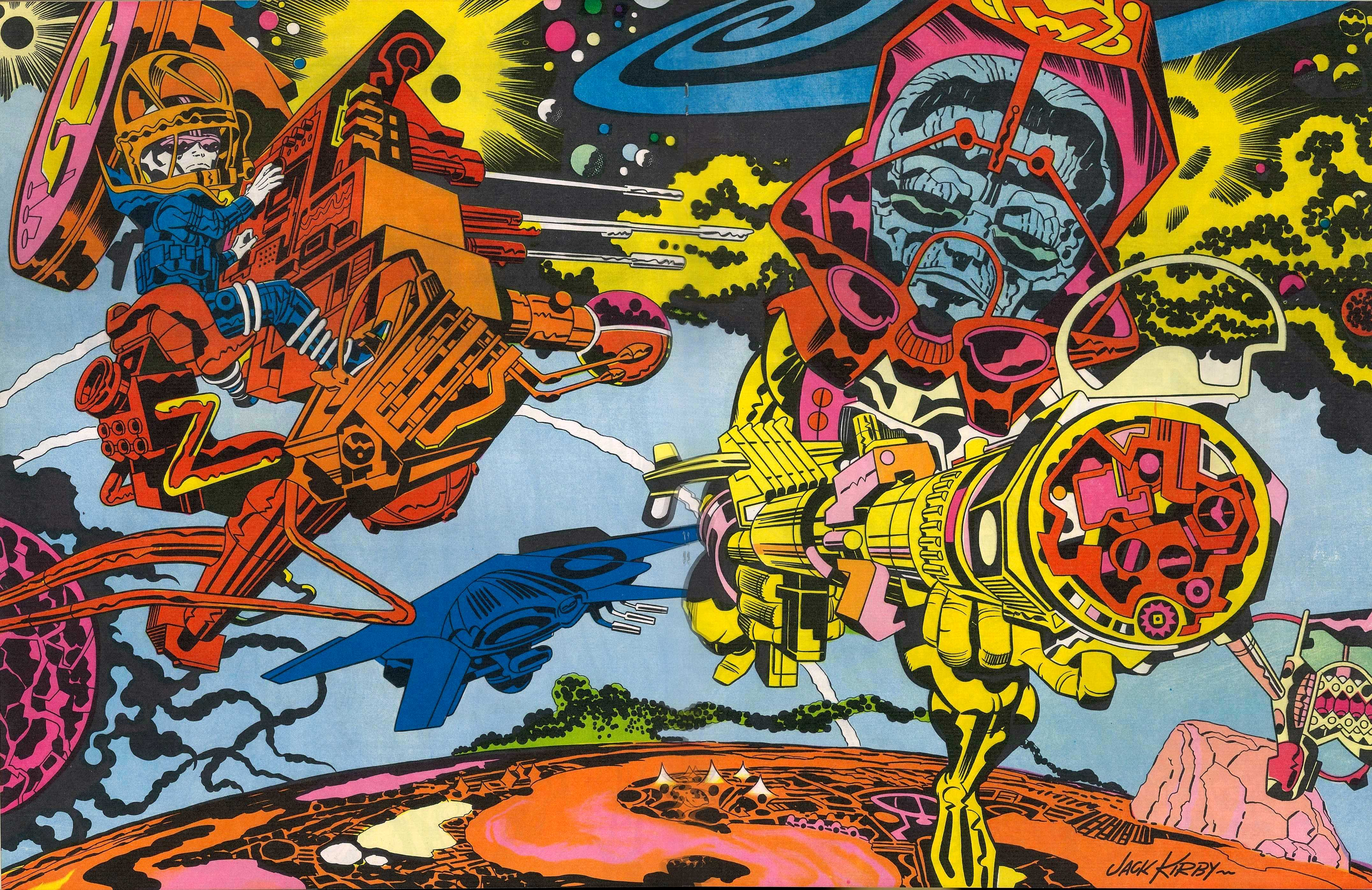 75 Jack Kirby Wallpaper On Wallpapersafari