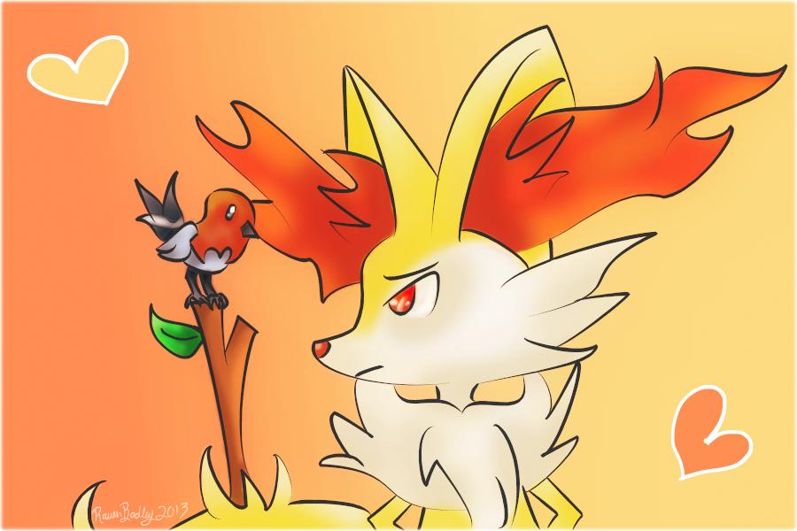 Pokemon Lucario X Braixen Pokemon Images Pokemon Images 900x600