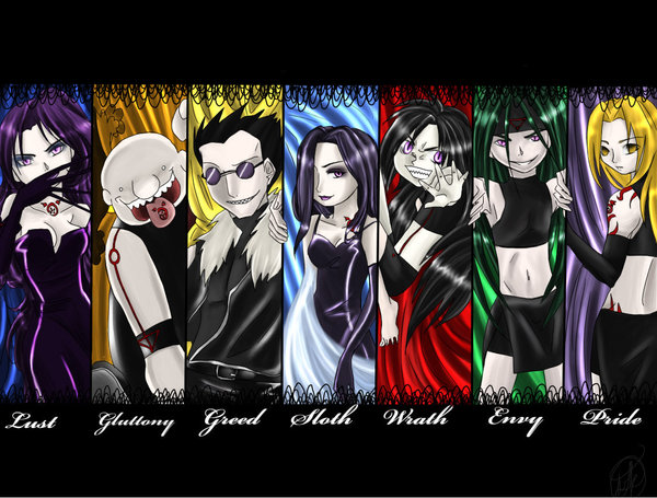 Seven Deadly Sins by MieleMac 600x455