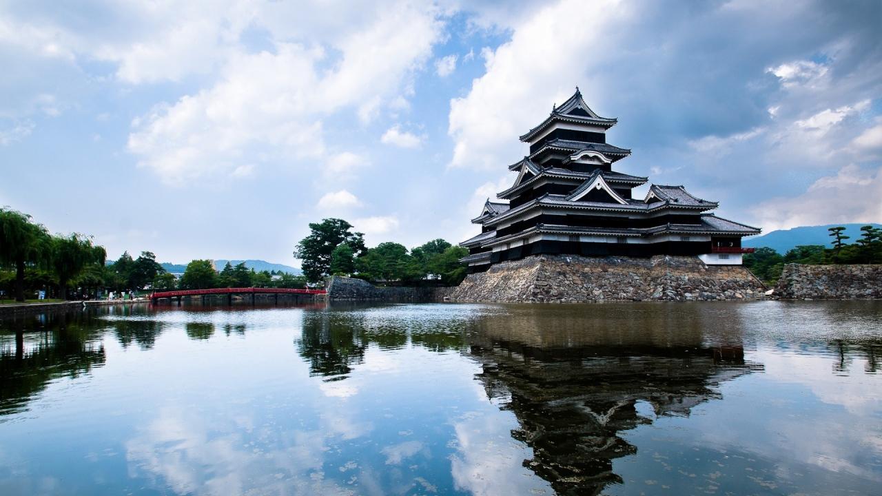 Download Wallpaper 1280x720 China, Rivers, Pagoda, Architecture ...