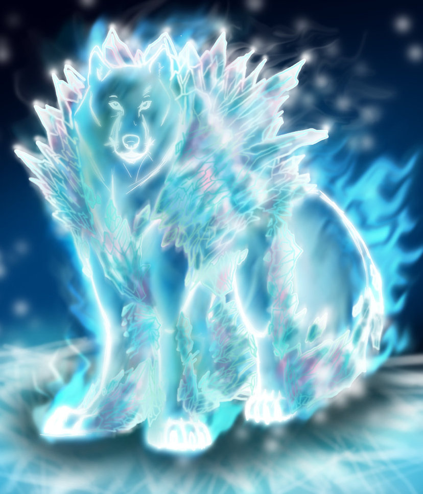 Ice Element Soul Of Wolf by ahyou1991 828x966