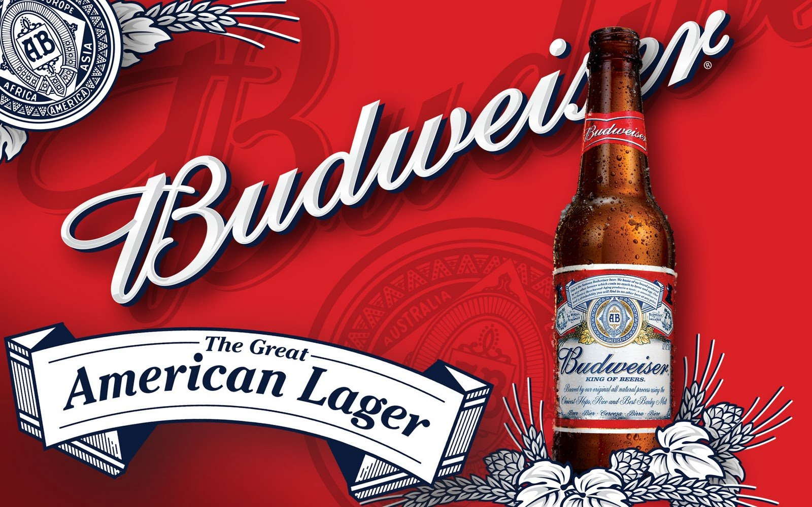 new wallpaper 2011 Budweiser Wallpaper   Budweiser Is Truly the King 1600x1000