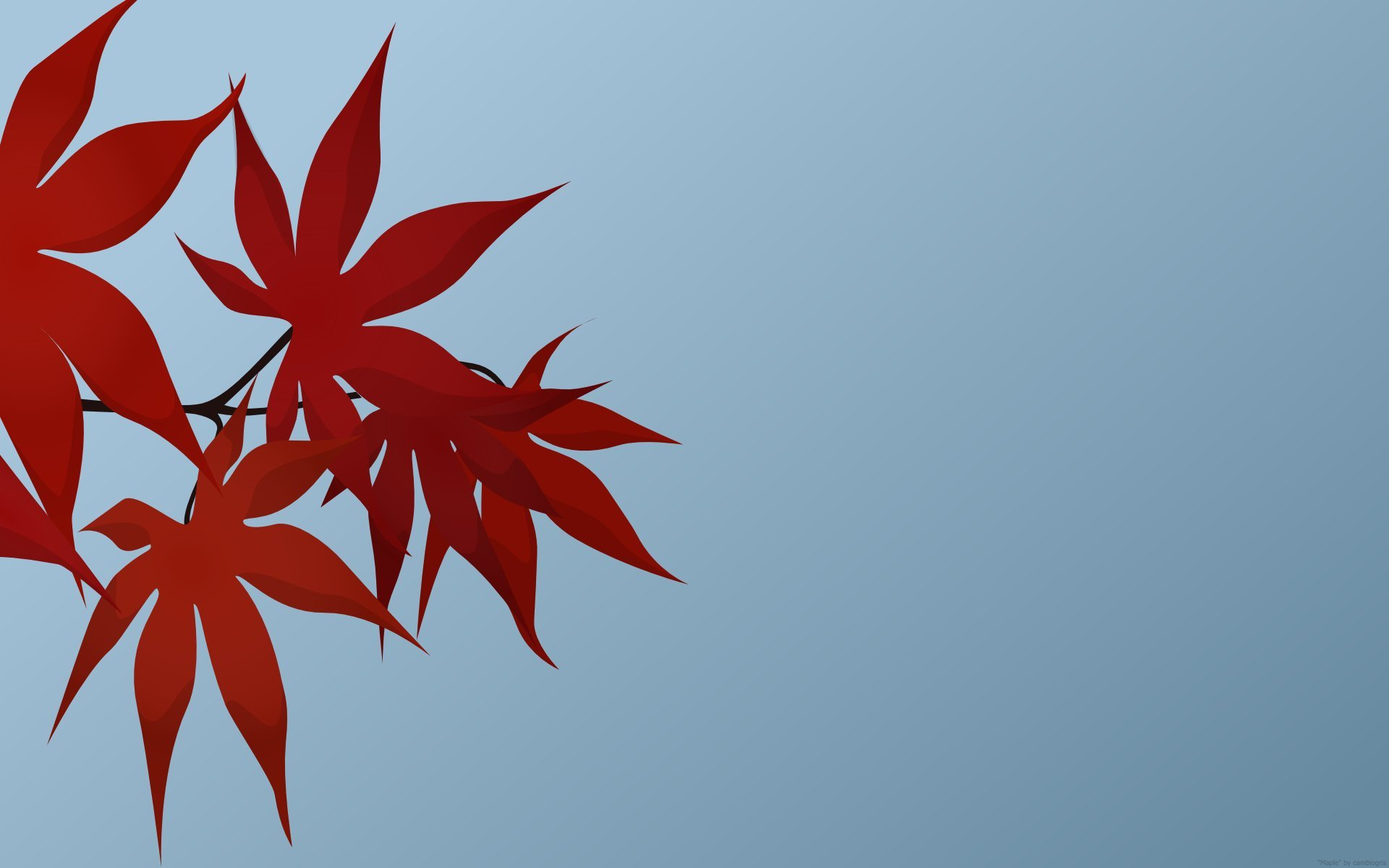 leaves red wallpaper wallpapers background walls submit 1920x1200