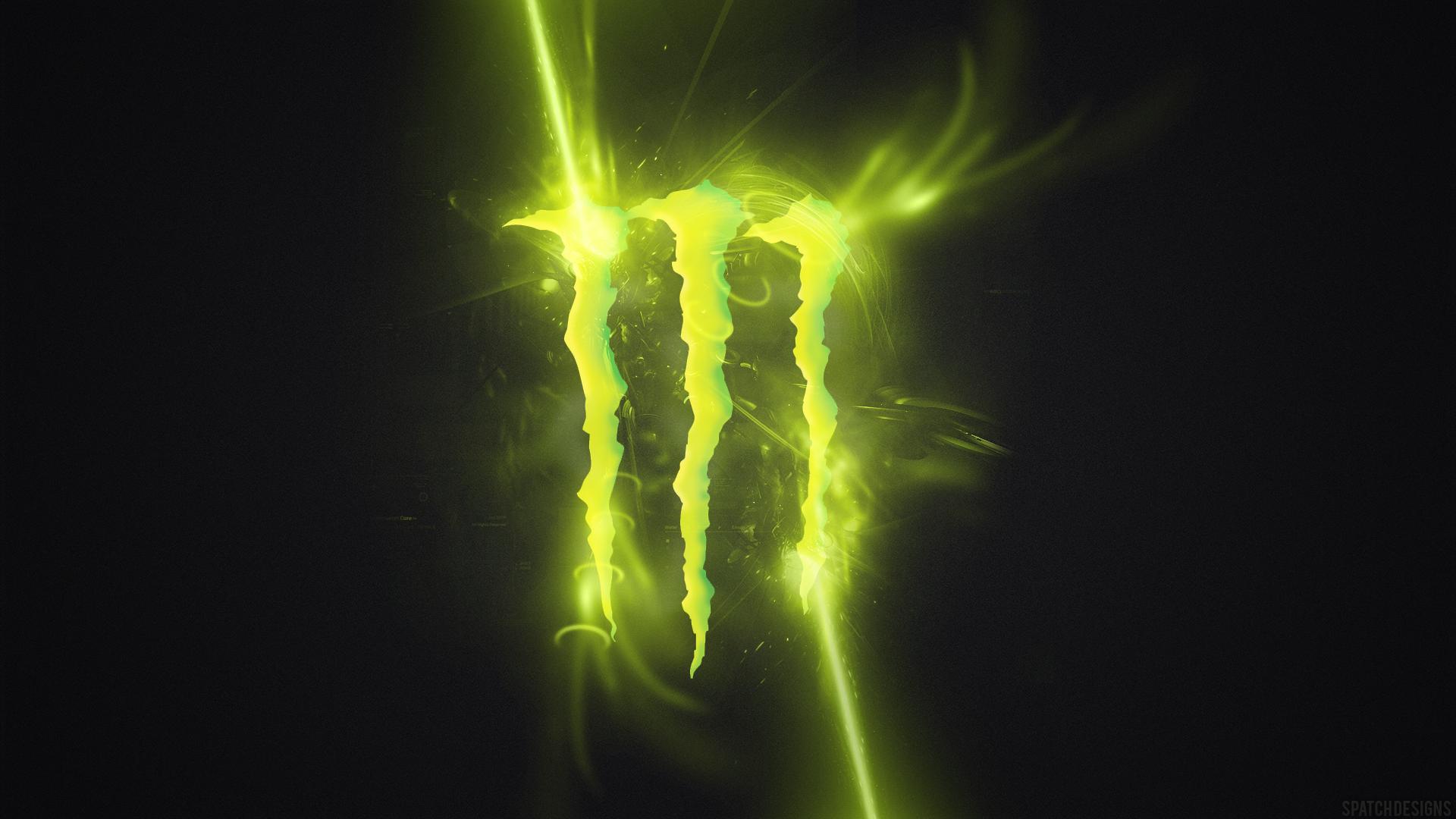 Monster Energy 03 HD Wallpaper Beautiful Monster Energy Logo HD 1920x1080