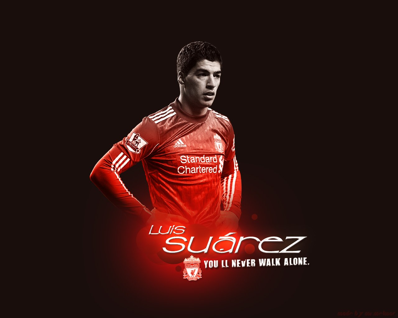 Luis Surez desktop image Liverpool wallpapers 1280x1024