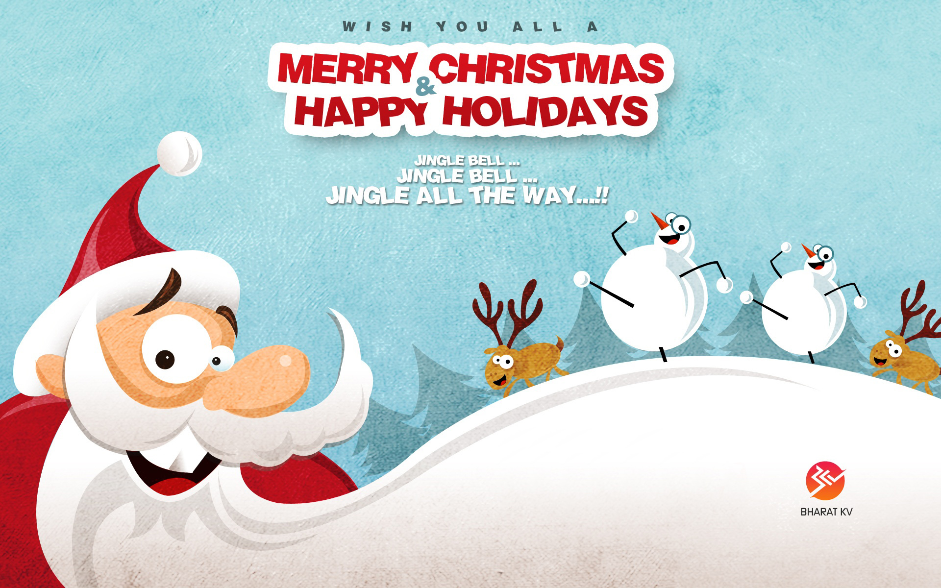 Merry Christmas Happy Holidays Wallpapers HD Wallpapers 1920x1200