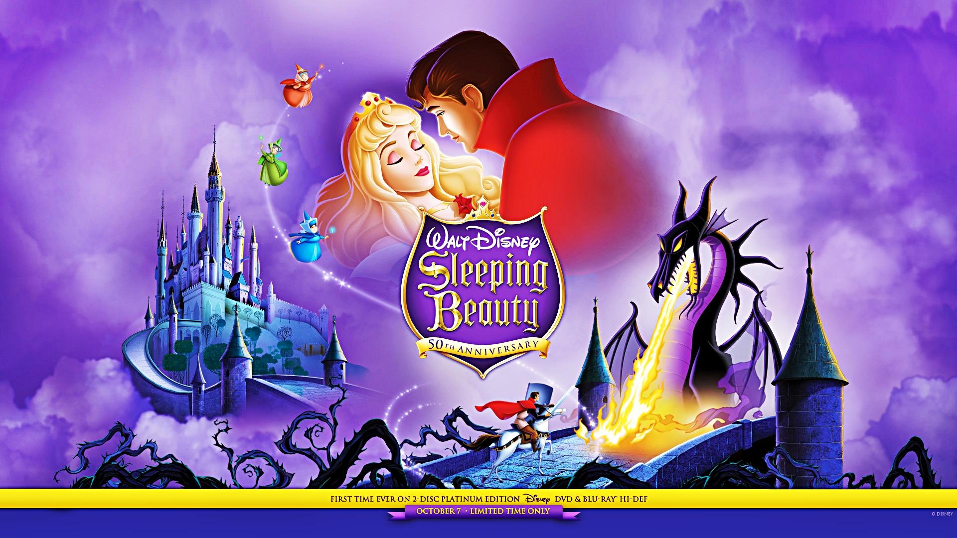 Disney Wallpapers   Sleeping Beauty   Walt Disney Characters Wallpaper 1920x1080