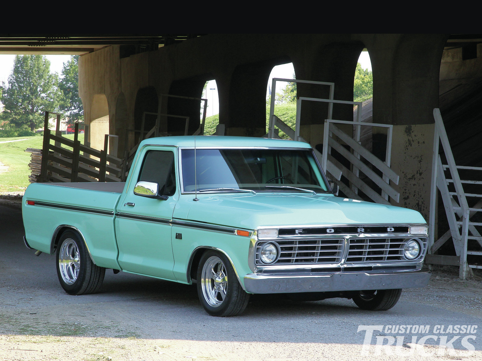 1976 Ford F 100 Wallpaper and Background Image 1600x1200 ID 1600x1200