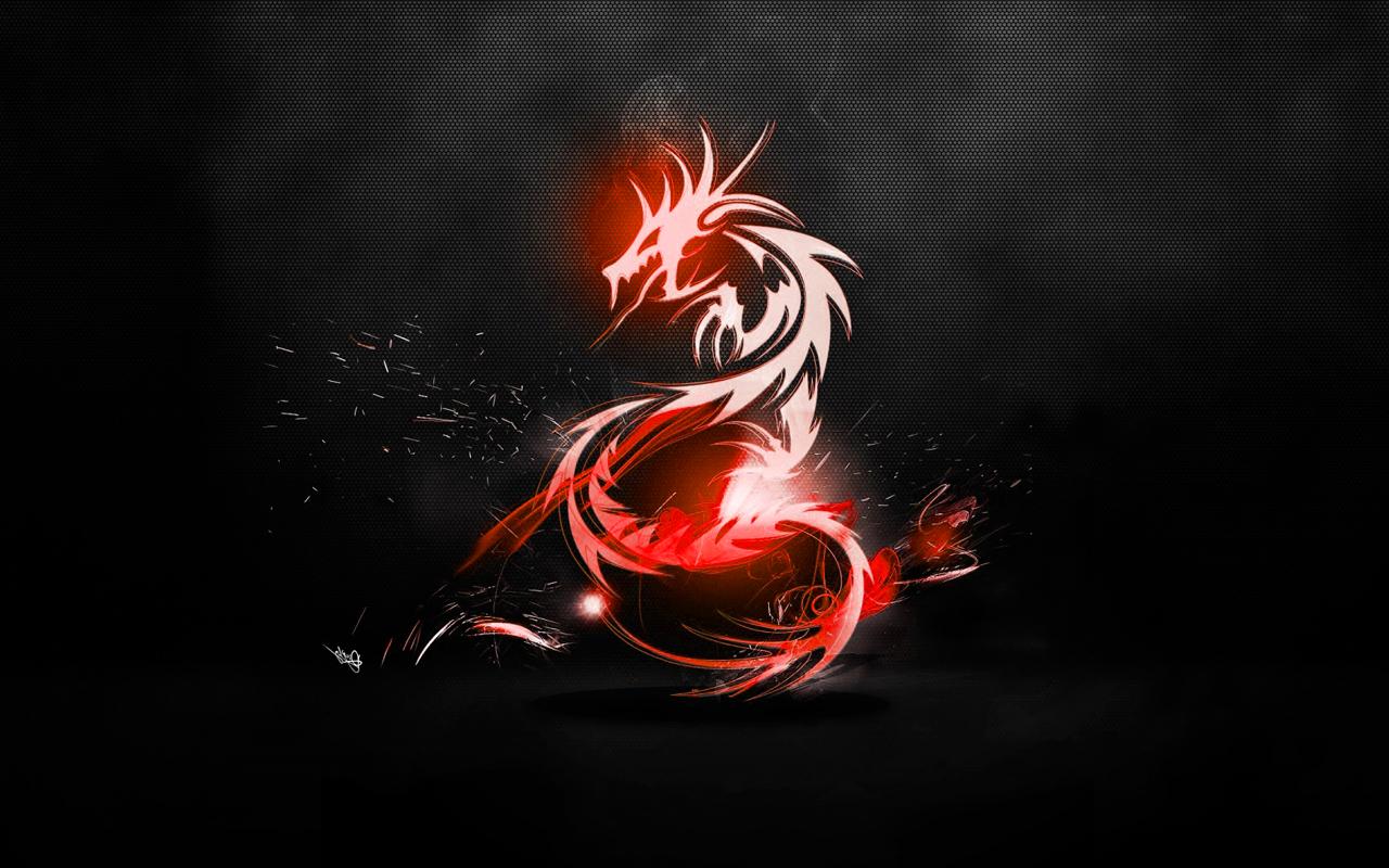 tribal dragon wallpaper by - photo #28