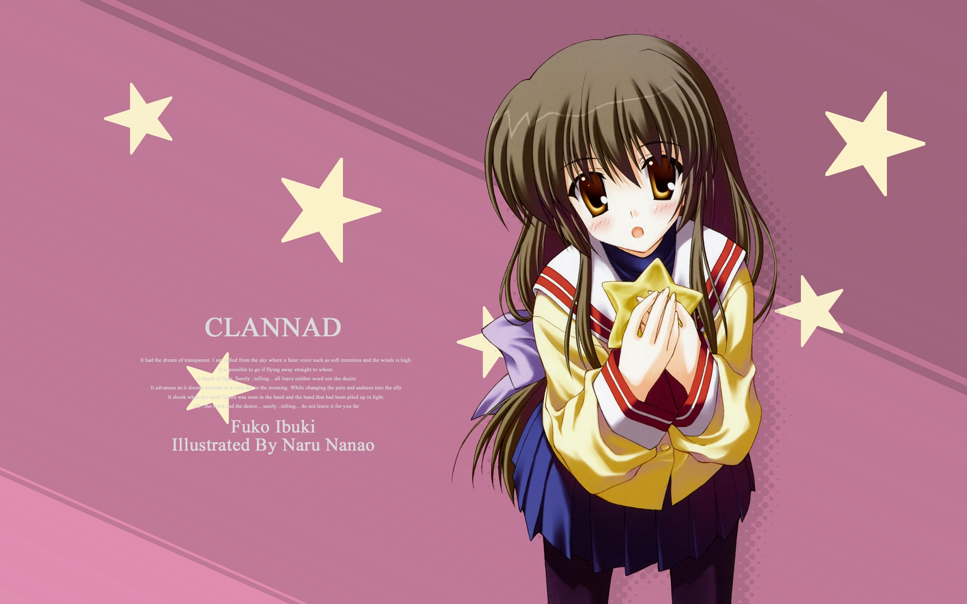 Clannad Anime 11 Background Wallpaper   Hivewallpapercom 1920x1200