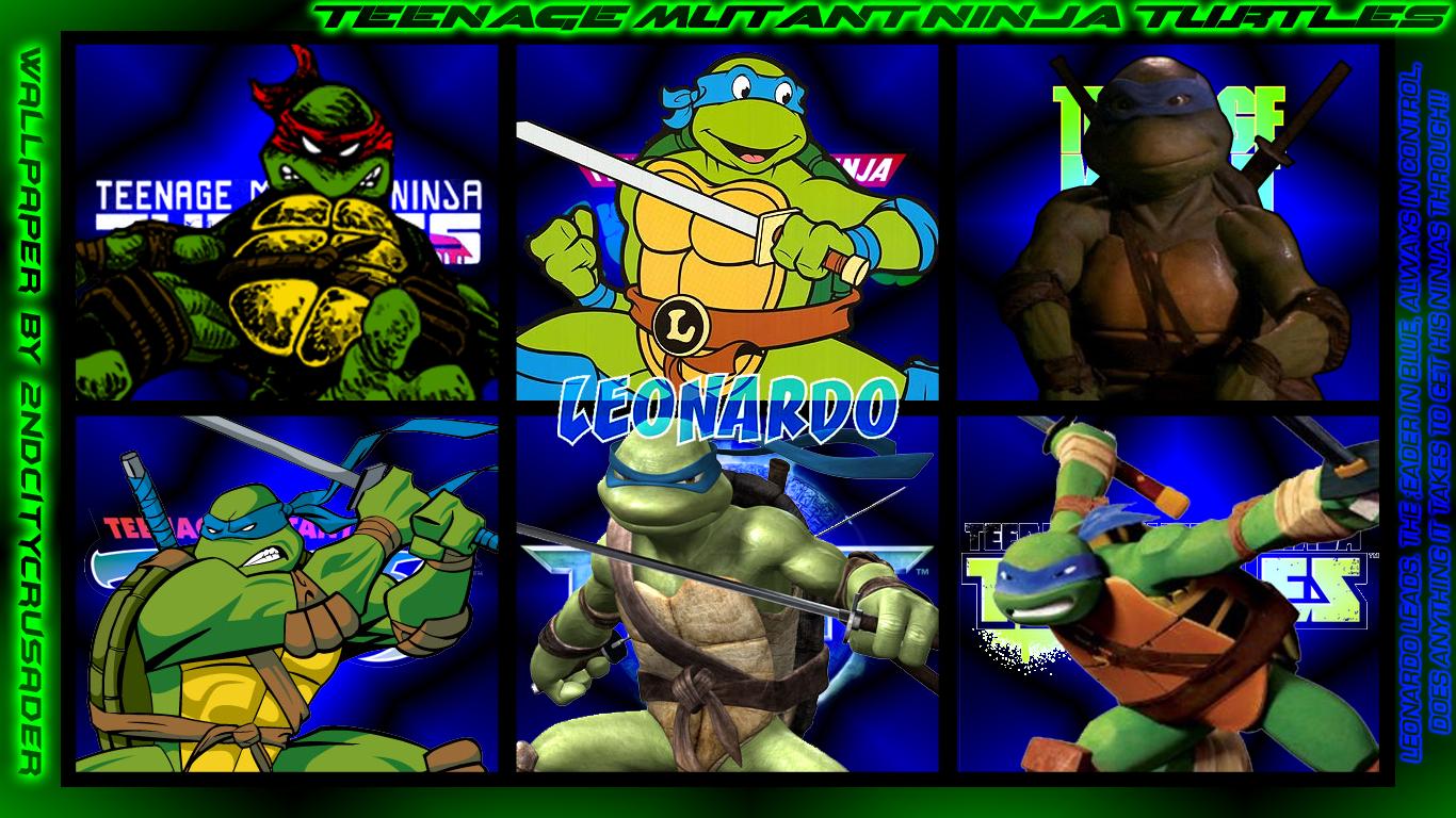 TMNT Generations 2 Wallpaper   Leonardo by 2ndCityCrusader on 1366x768