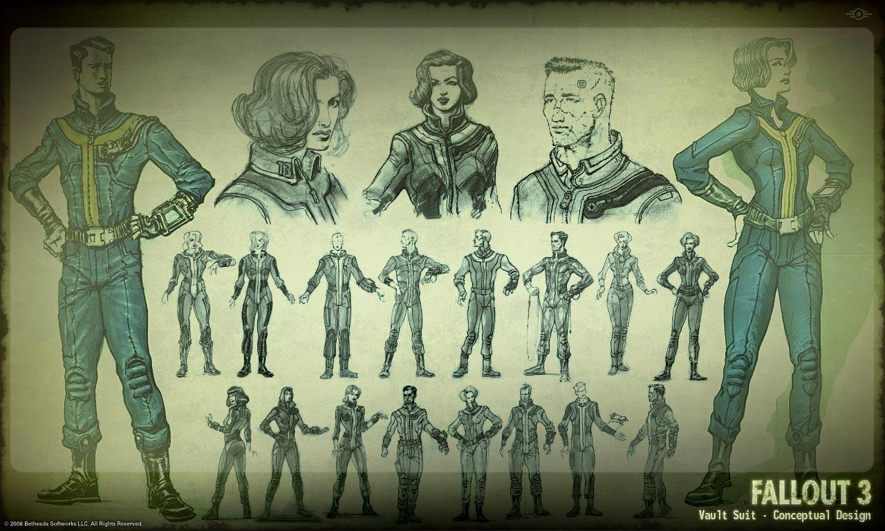 tardes de vicio Concept Art de Fallout 3 1280x768