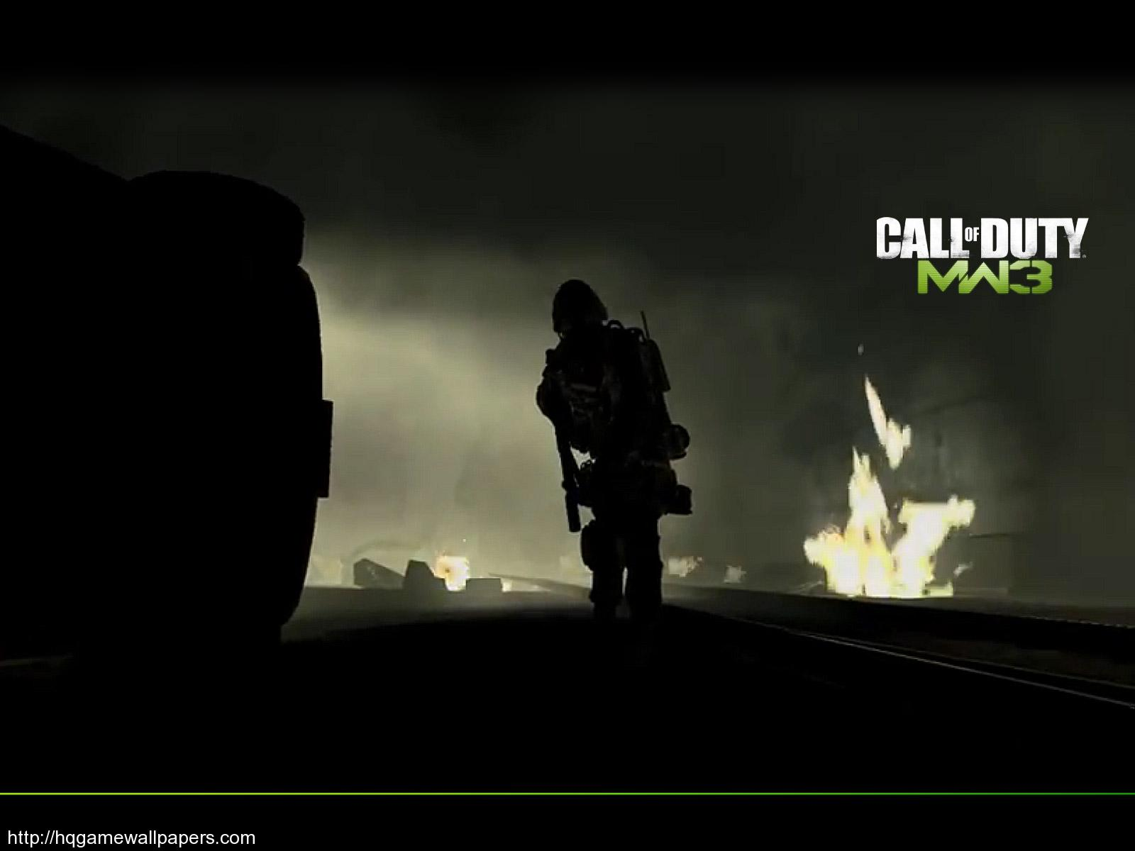 Download High Quality Game Wallpaper Named COD MW3 1600x1200