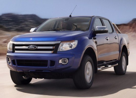 Ford Endeavour 2013 Wallpaper 550x396