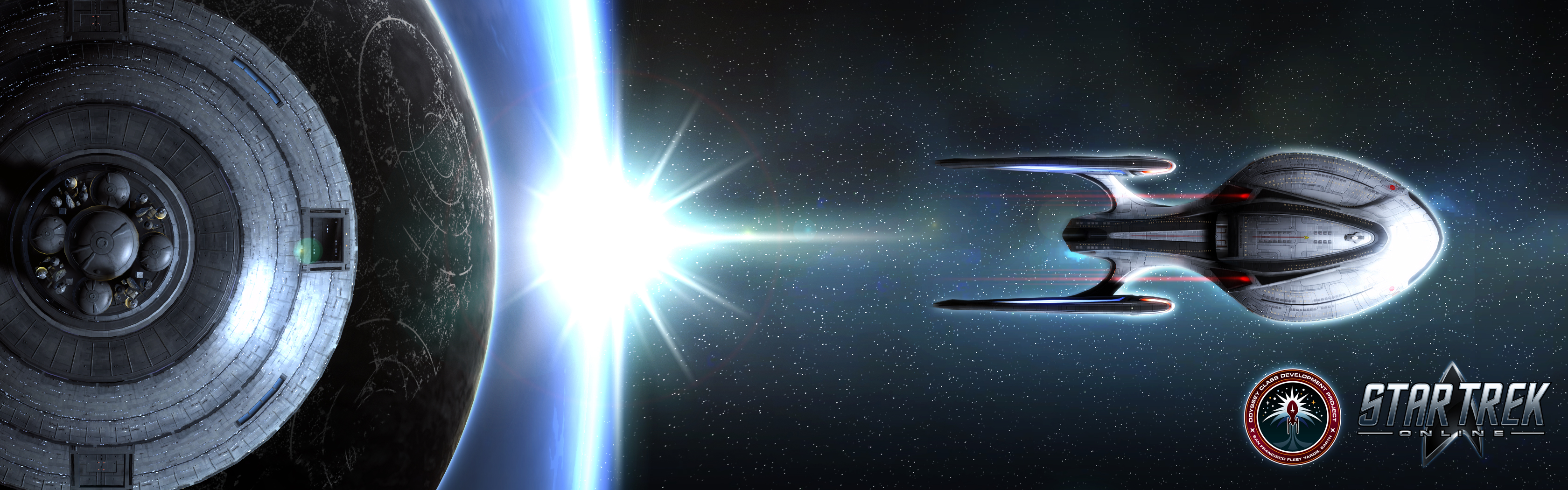 New Star Trek Online Wallpapers 3360x1050