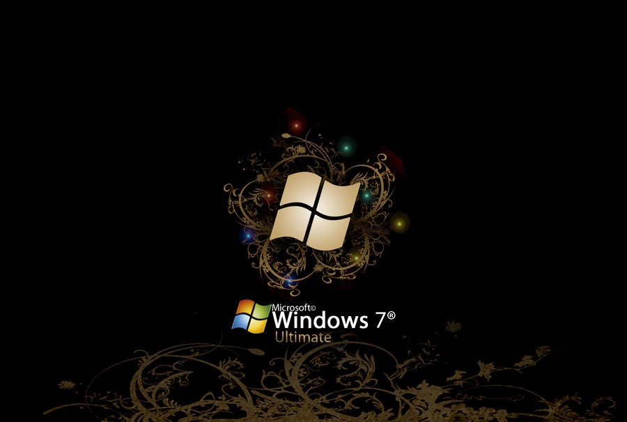 Windows 7 Ultimate Wallpaper by Vinis13 900x606