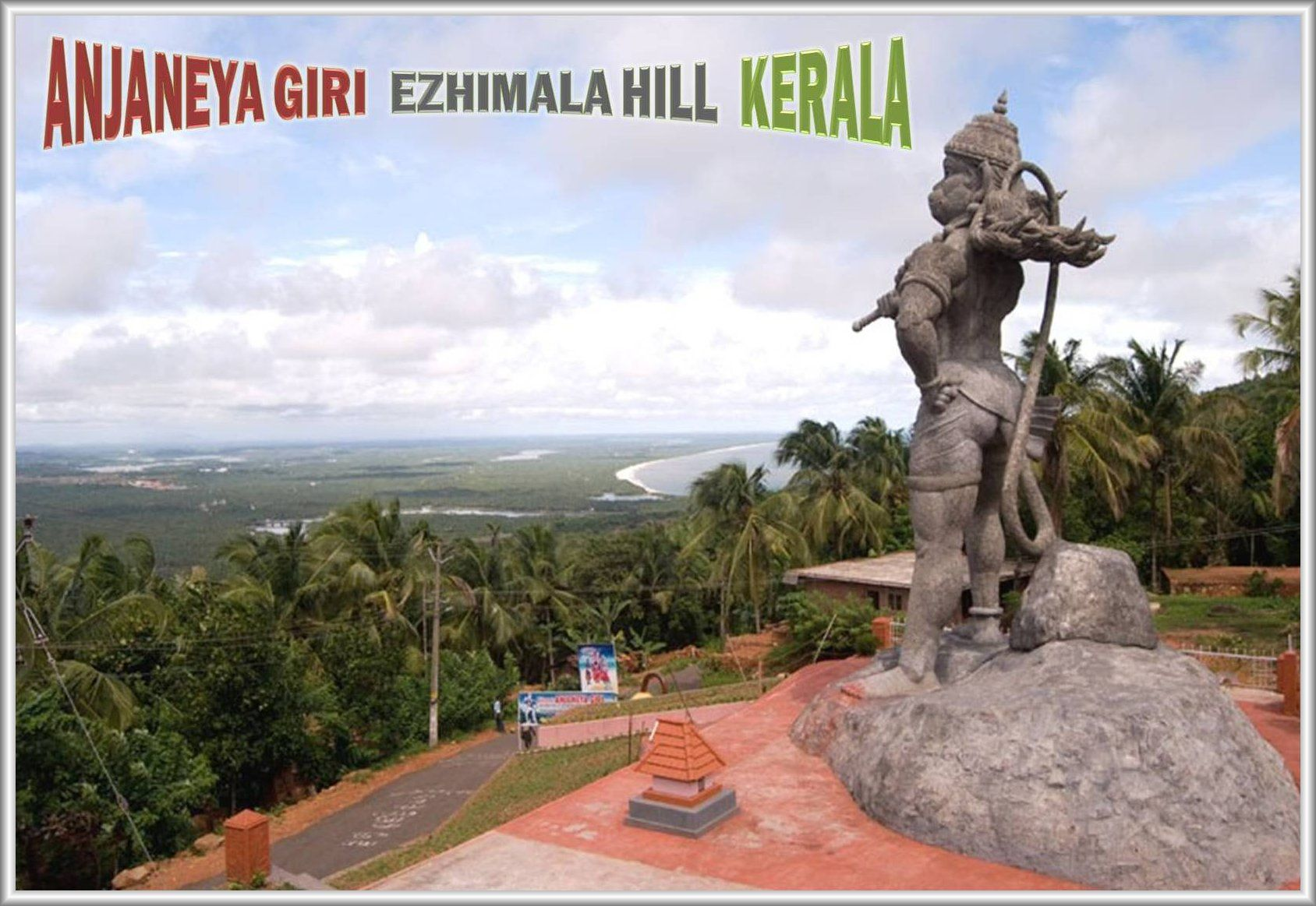 41 feet height sky high statue of Lord Veer Hanuman is located at 1688x1163
