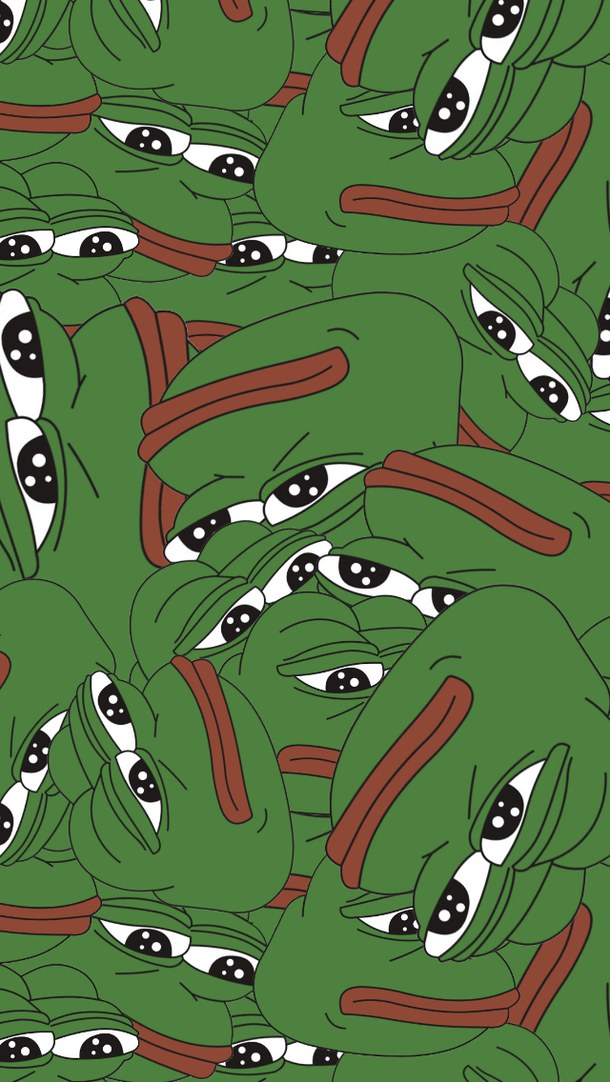 meme pepe tumblr wallpaper pepe the frog 610x1082