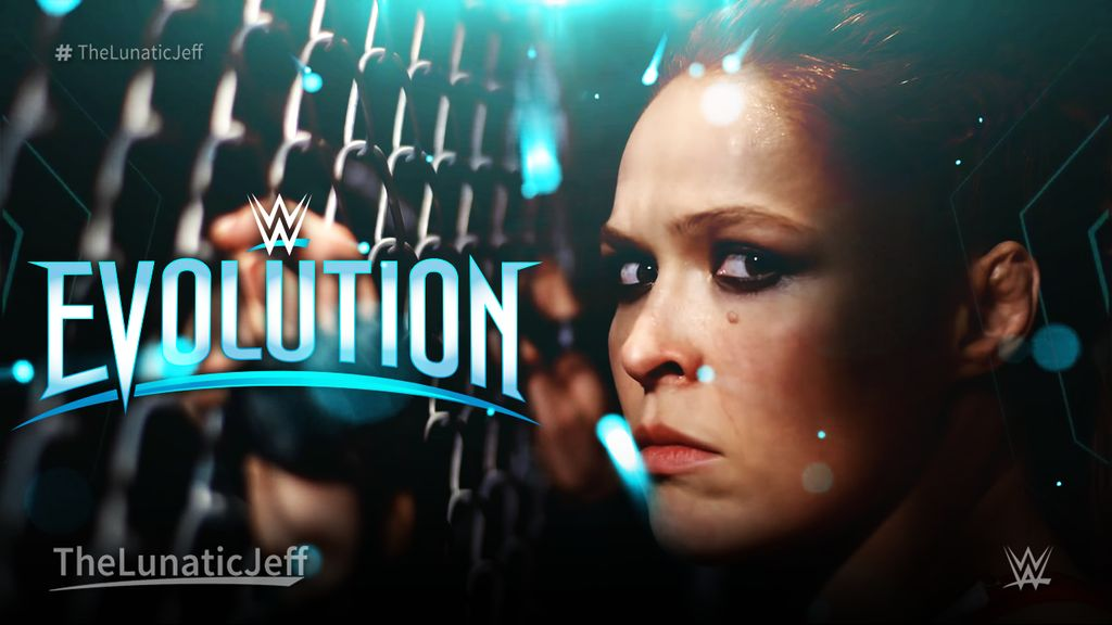 WWE Evolution 2018 Pay Per View   Wallpaper 1 by 1024x576