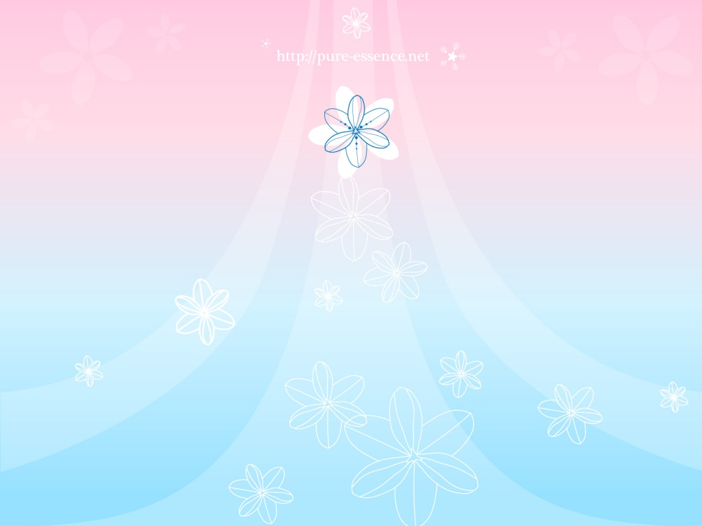 Pastel Flower Background Wallpapers Set Auto Design Tech 1024x768