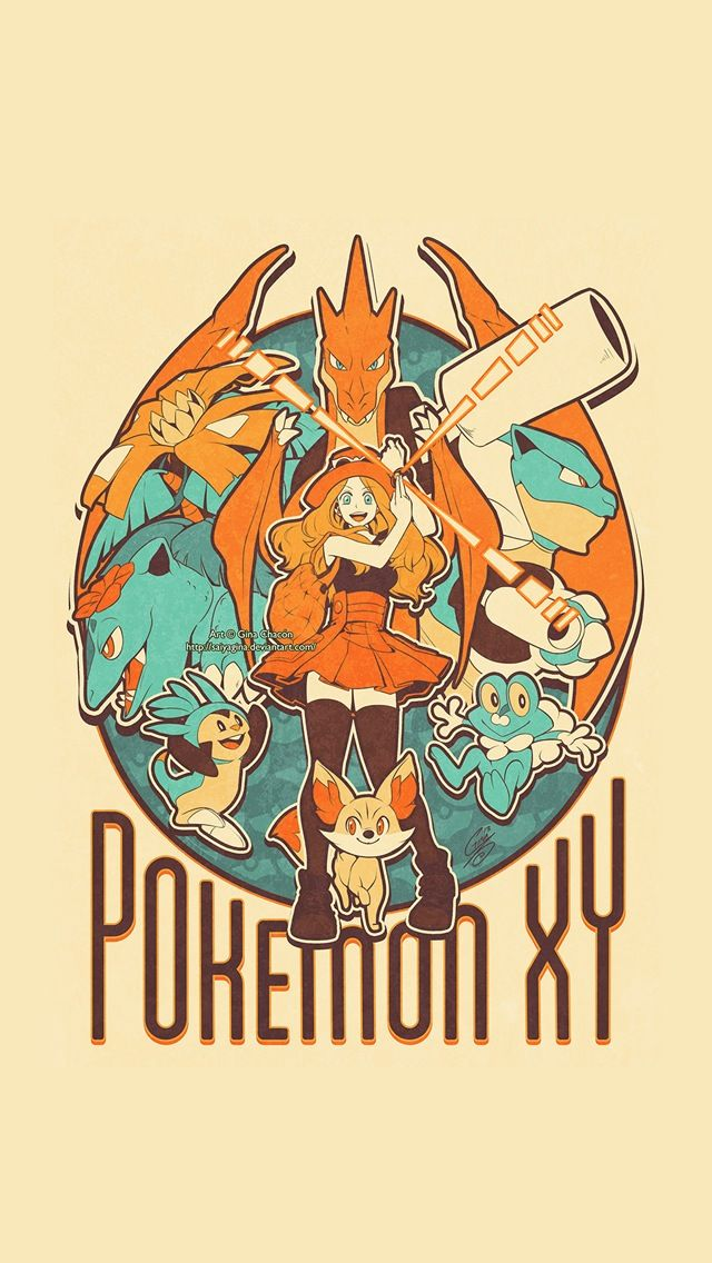 Pokemon X and Y   iPhone wallpaper mobile9 Wallpapers Pokemon 640x1136