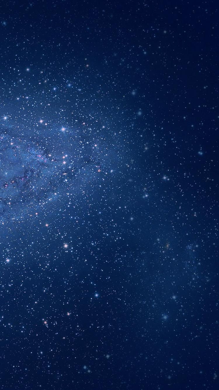Milky Way Galaxy Edge OS X Lion iPhone 6 Wallpaper iPod 750x1334