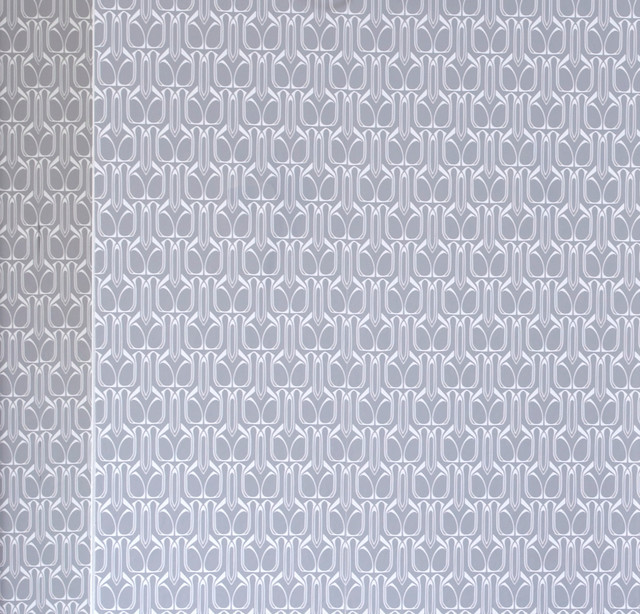 Gio Removable Wallpaper Silver   Contemporary   Wallpaper   by 640x614