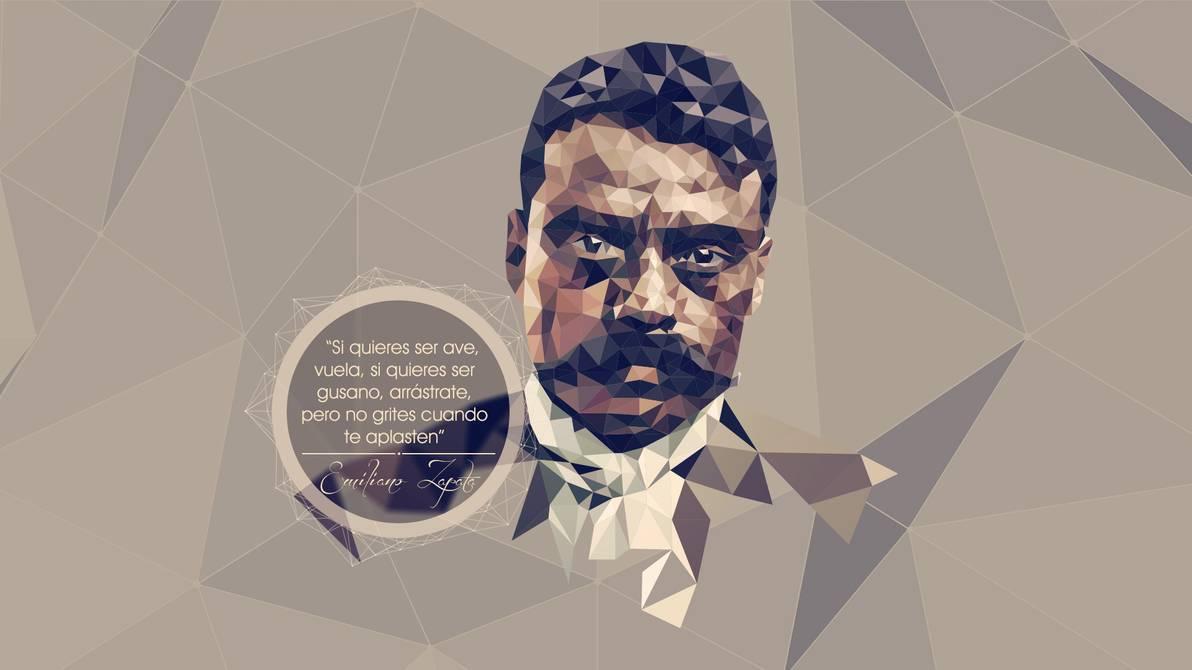 Emiliano Zapata LowPoly by giacko 1192x670