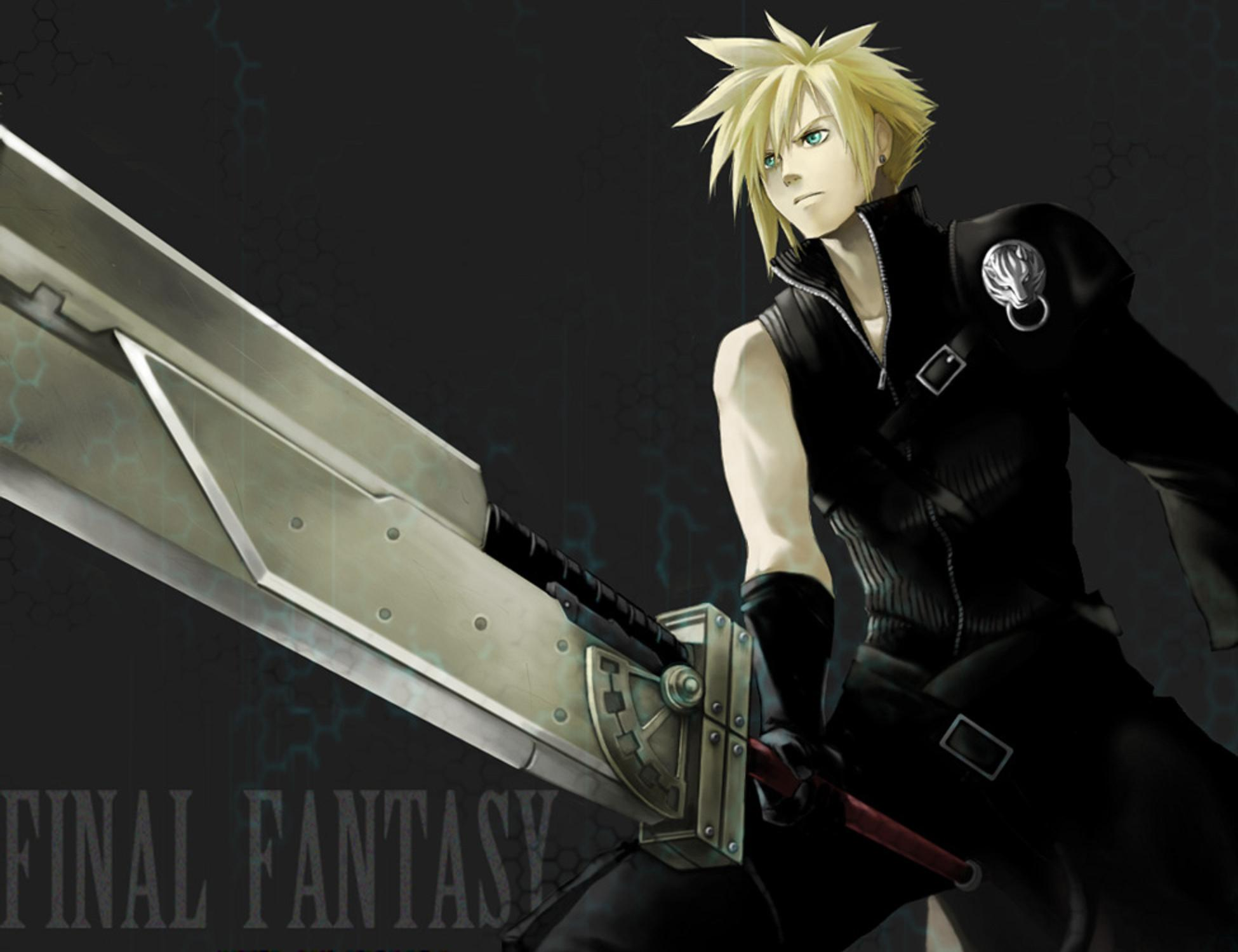 Free Download Cloud Strife 1950x1500 For Your Desktop Mobile