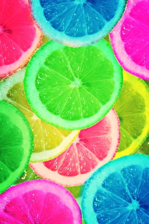 rxmisx wallpaper background iphone android lemon summer bright neon 500x750