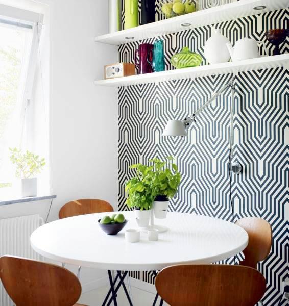 Mark Cutler Design Bold Wallpapers Make a Big Statement 566x600