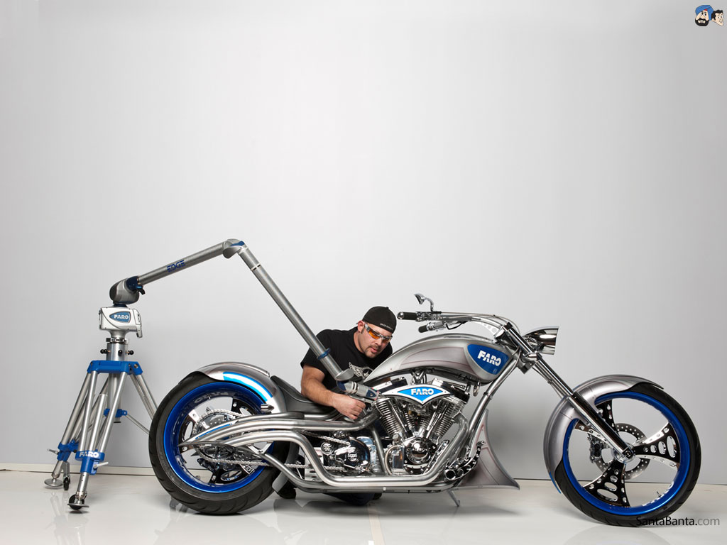 Wallpapers Bikes American Choppers 1024x768