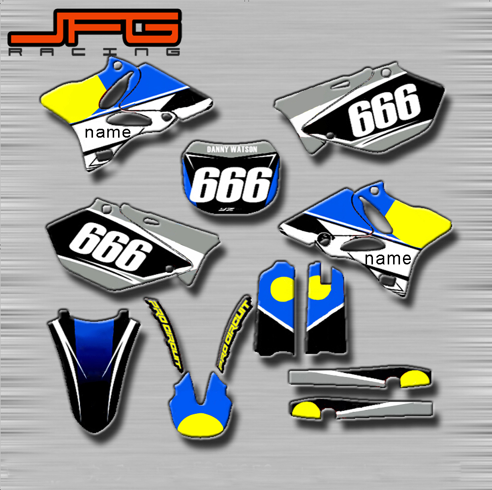 Motorcycle Customized Graphics Background Decals Stickers Kits For 1000x997