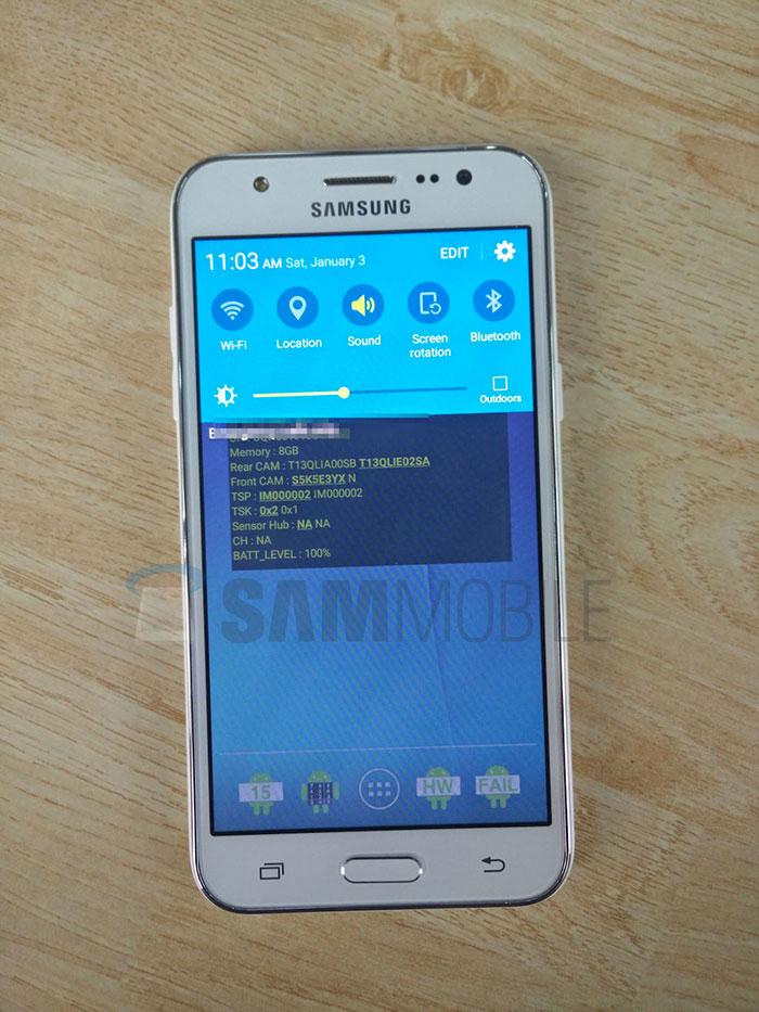 Le Samsung Galaxy J5 se dvoile en photos 700x933