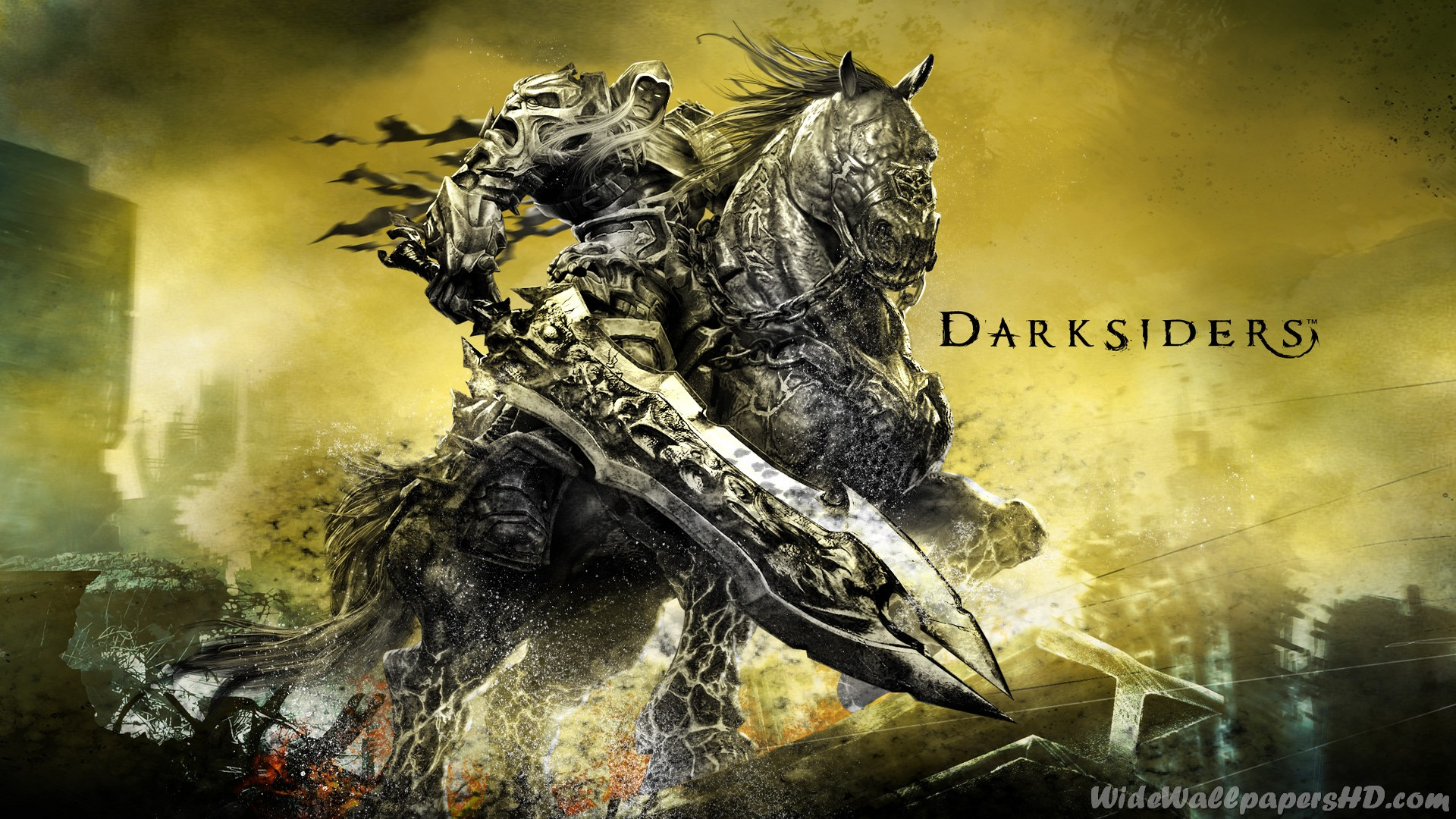 Four Horsemen Of The Apocalypse Wallpaper Darksiders 1920x1080