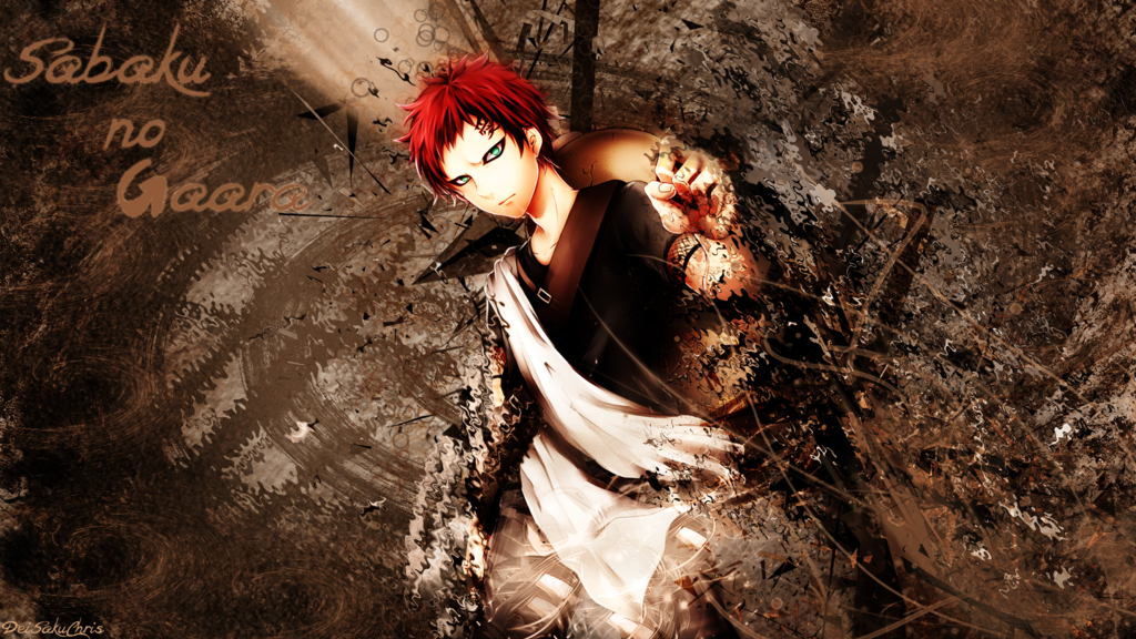 Gaara Wallpaper by DeiSakuChris 1024x576